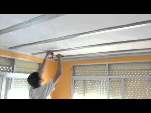 Techo de pladur videos videos relacionados con techo - Colocar techos de pladur ...