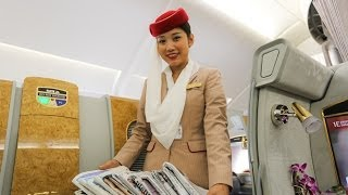 Emirates A380 First Class Suites, HD Experience