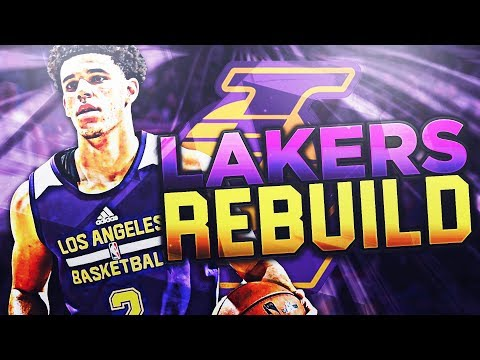 REBUILDING THE LOS ANGELES LAKERS! NBA 2K18 MY LEAGUE!