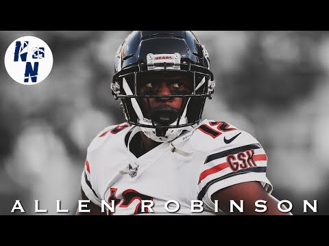 "Allen Robinson Chicago Bears Mid-Season Highlight Mix   ||   "" ZEZE ""   ᴴ ᴰ"