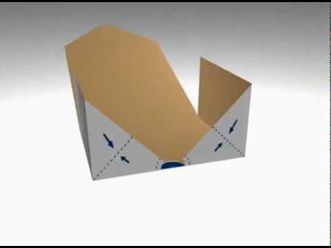 Modélisation 3D d'une boite pliable