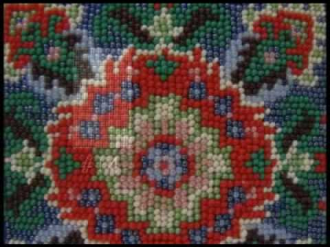 Beading On Needlepoint Canvas By Ann Benson