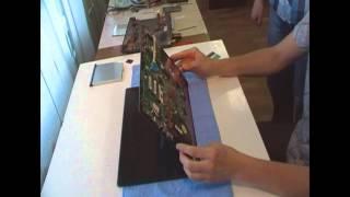 Разборка и чистка ноутбука EMachines E732G.