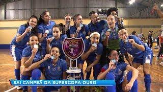 Salto é campeã da Supercopa pela série Ouro