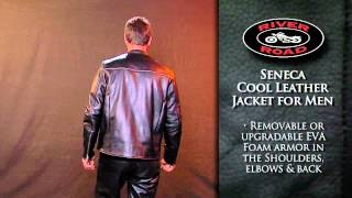 River Road Seneca Cool Leather Jacket for Men