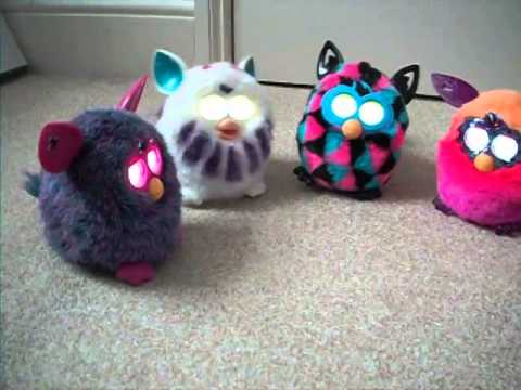 New Furby Convo With Furby Boom And Crystal Series!