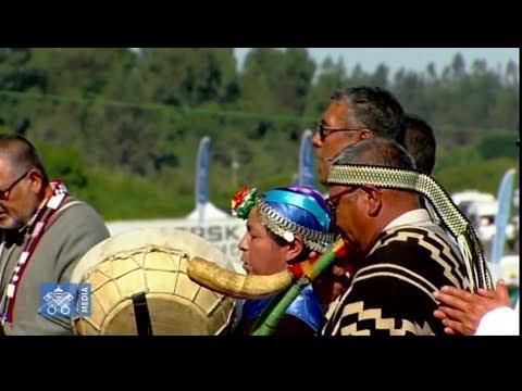 El Papa en Temuco pide respeto por Mapuches y fin de la violencia (VIDEO)