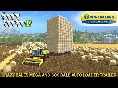 New Holland 600 Bale Auto Loader v1.0