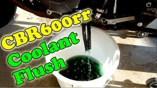 8. CBR600rr Coolant Flush 2007 - 2012 - DIY Maintenance Series