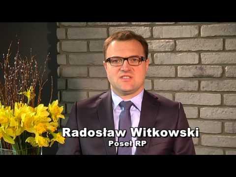 Wesołych Świąt życzy poseł Radosław Witkowski