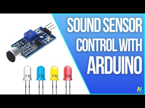 Arduino Sound Sensor (with LED) | Arduino Project