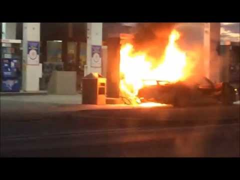 Porsche 918 Spyder Burns To A Crisp In A Canadian Gas