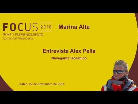 Entrevista a Alex Pella, navegante oceánico, en Focus Pyme Marina Alta[;;;][;;;]