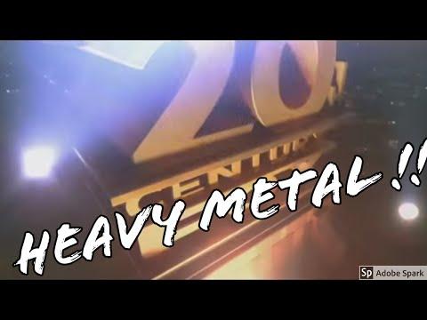 20th Century Fox Heavy Metal Intro Electric guitar