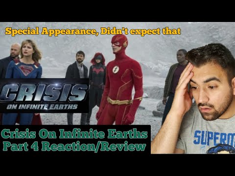 "ARROW SEASON 8 EPISODE 8 ""Crisis on Infinite Earths: Part 4"" Reaction/Review"