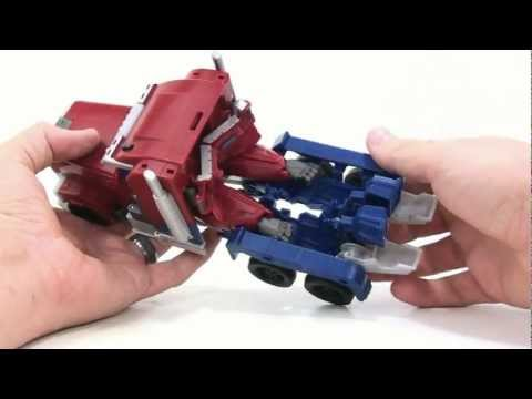 transformers - Video Review of the Transformers Prime (RID) Weaponizer: Optimus Prime.