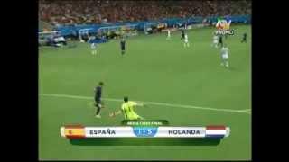 WM 2014: Casillas patzt gegen die Niederlande