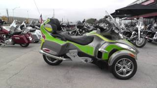 10. 000942 - 2011 Can Am Spyder RT S SE5 - Used motorcycles for sale