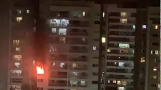 Incêndio atinge apartamento no Jardins