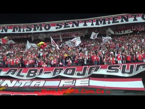 - Independiente Santa Fe Vs Nacional de Uruguay - Copa Total Sudamericana 2015 - - La Guardia Albi Roja Sur - Independiente Santa Fe
