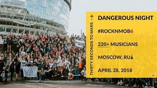 Thirty Seconds to Mars - Dangerous Night (ROCKNMOB #6, Moscow)