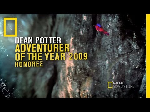 Adventurer - National Geographic Adventure Magazine presents the 2009 Adventurers of the Year, including Dean Potter. Watch as he leaps off the Eiger for the world's long...