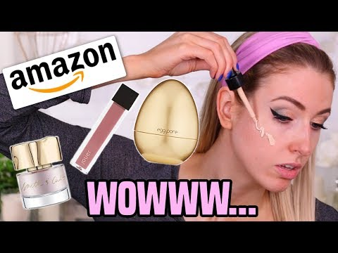 LUXURY AMAZON MAKEUP??  Full Face TESTED  Wear Test!!