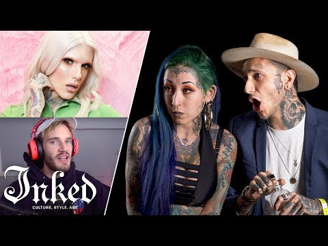 Tattoo Artists React to YouTuber's Tattoos | Tattoo Artists Answer
