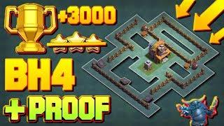 Epic Builder Hall 4 Base (BH4) + Defense Replay / BH4 Base Layout  Clash of Clans Epic Builder Hall 4 Base (BH4) + Defense...