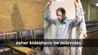 Putting on the Tallit