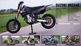 2. Cool Supermoto Bikes-DRz400sm