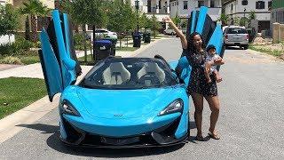 Video SURPRISING GIRLFRIEND WITH DREAM CAR THE MCLAREN!!! (VERY EMOTIONAL) MP3, 3GP, MP4, WEBM, AVI, FLV April 2018