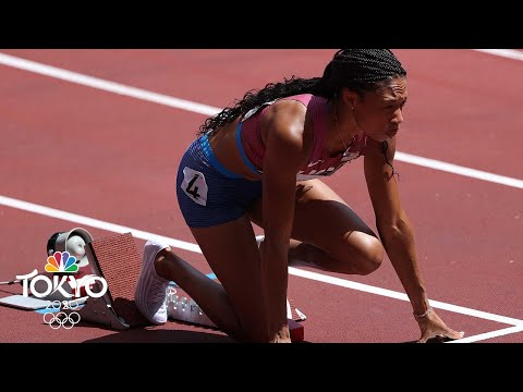 Allyson Felix wins 400m heat with third-best time of prelims | Tokyo Olympics | NBC Sports