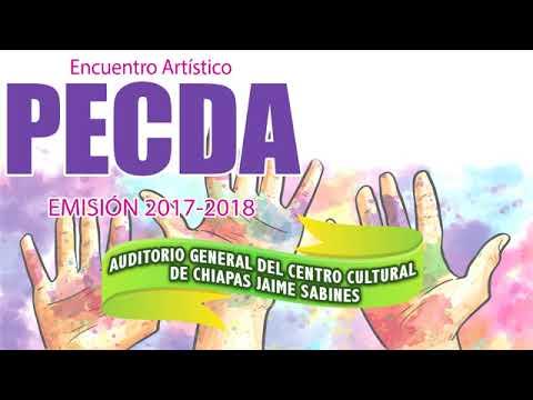 Encuentro Artístico PECDA Emisión 2018