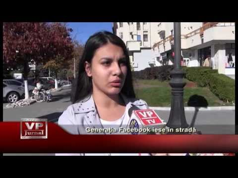 Generatia Facebook iese in strada