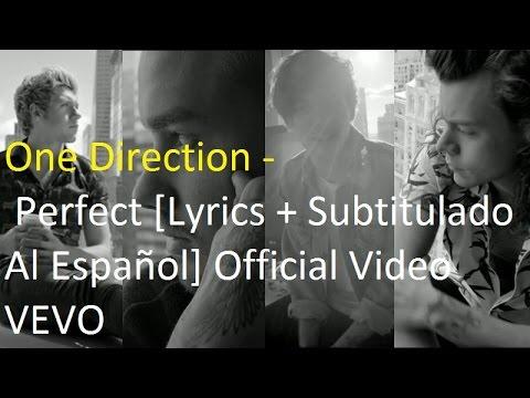 One Direction - Perfect [Lyrics + Subtitulado Al Español] Official Video  VEVO (видео)