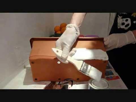 Pintar macetas de barro y plástico
