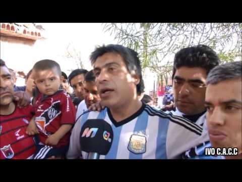 LA BARRA DEL OESTE Y LA FAMOSA BANDA DE SAN MARTÍN - CENTRAL CÓRDOBA VS CHACARITA 2015 - La Barra del Oeste - Central Córdoba