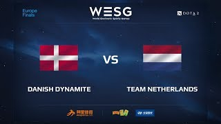 Danish Dynamite vs Team Netherlands, WESG 2017 Dota 2 European Qualifier Finals