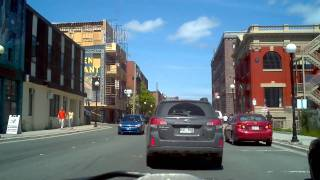 St. John's (NL) Canada  city pictures gallery : A drive through downtown St. John's, Newfoundland and Labrador