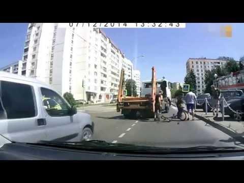 Подборка ДТП и Аварий Июль 2014