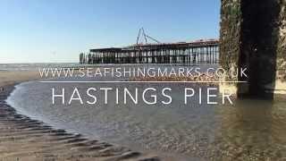 Hastings United Kingdom  city photos : Fishing marks next to Hastings Pier
