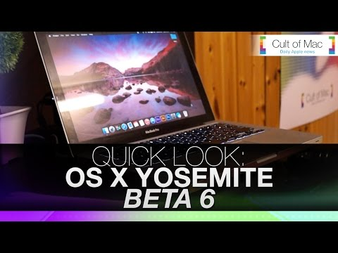 OS - Yosemite Wallpapers & Full write up - http://www.cultofmac.com/291819/new-changes-wallpapers-os-x-yosemite-preview-6/ Just a week after Beta 5 for OS X Yosemite was released, Beta 6 is already...