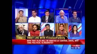Retired General G D Bakshi Cries During Newshour Debate