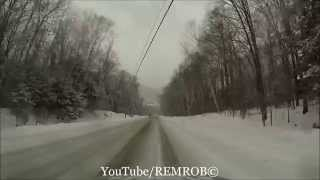Lincoln (NH) United States  city pictures gallery : Driving Lincoln, N.H. In Winter