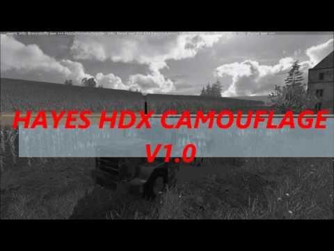 Hayes HDX Camouflage v1.0