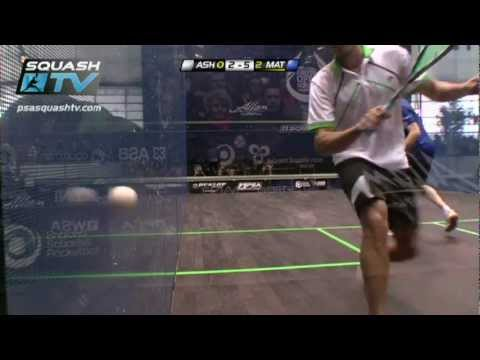 Squash : Nick Matthew v Ramy Ashour : PSA Allam British Squash Open 2012 Final Roundup