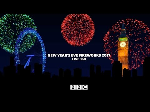 Nova godina uživo: London Fireworks 2017 New Year – live