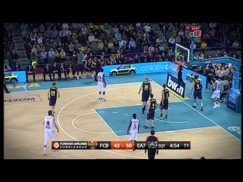 #hatmakers Block of the Night by Mario Hezonja, FC Barcelona