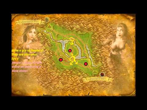 Arathi Basin - Okey so here is the Arathi Basin RBG tactical guide!, It did not turn out as great as i wanted it, basicly my sony vegas started to mess up and i had to cut ...